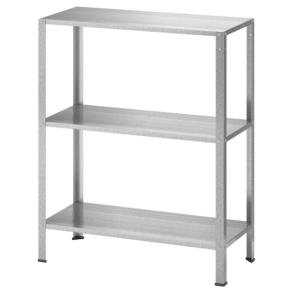 "HYLLIS shelf unit indoor/outdoor 23 5/8 "" 10 5/8 "" 29 1/8 "" 55 lb"