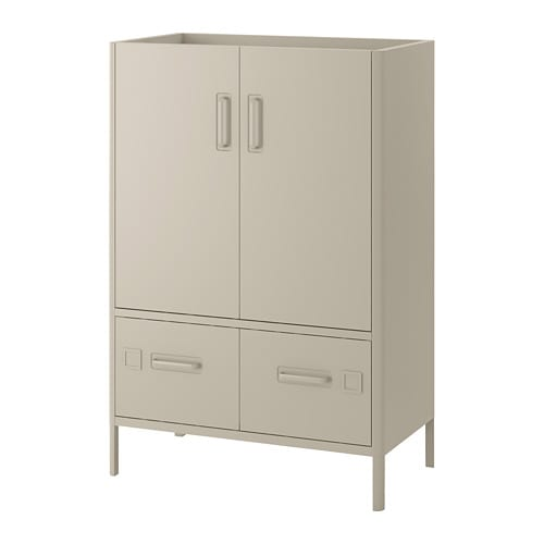 Idåsen Cabinet With Smart Lock Beige Ikea