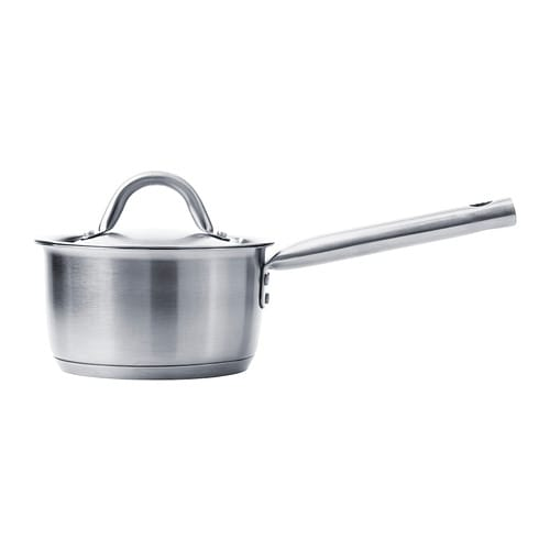 IKEA 365+ Saucepan with lid IKEA Works well on all types of cooktops, including induction cooktops.