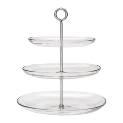 IKEA 365+ Serving platter, 3 tiers IKEA The plates are detachable which means you can combine and vary the height as you like.   .