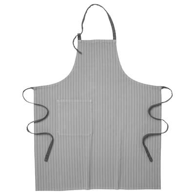 "IKEA 365+ apron gray 39 """