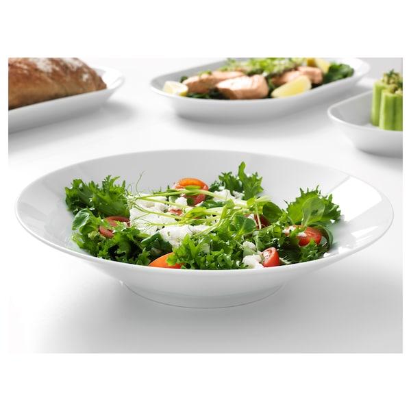 """IKEA 365+ bowl angled sides white 2 """" 11 """""""
