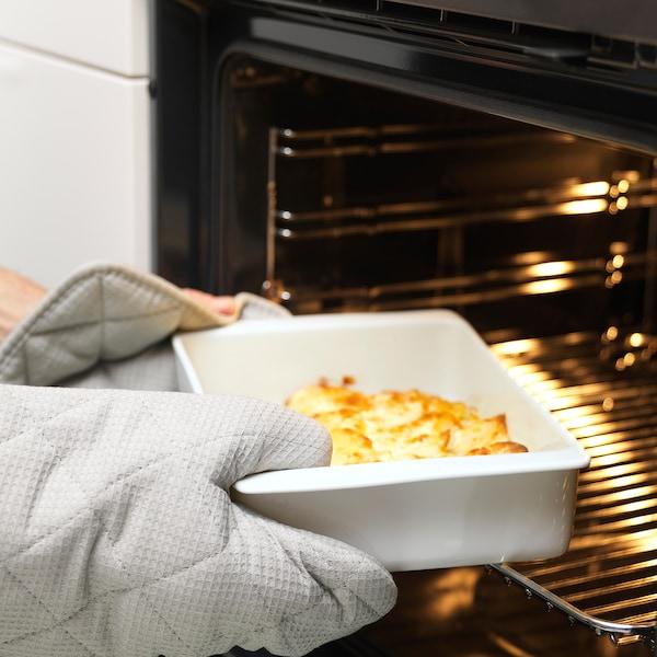 "IKEA 365+ oven dish white 12 ½ "" 7 ¾ "" 3 """