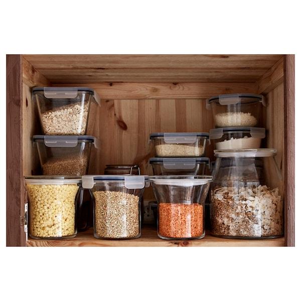 IKEA 365+ Jar with lid, glass, 112 oz