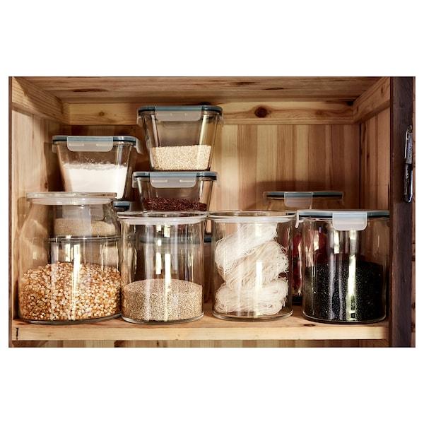 IKEA 365+ Jar with lid, glass, 57 oz
