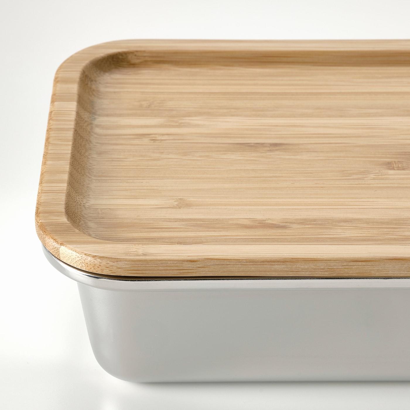 IKEA 365+ Lid, rectangular/bamboo