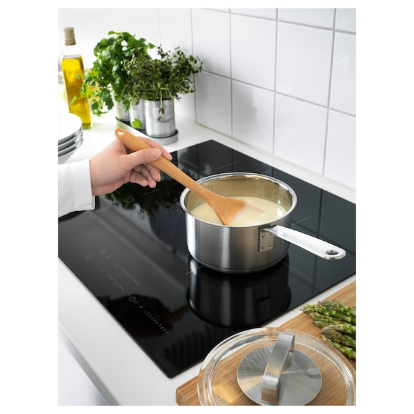 IKEA 365+ Saucepan with lid, stainless steel/glass, 2.1 qt