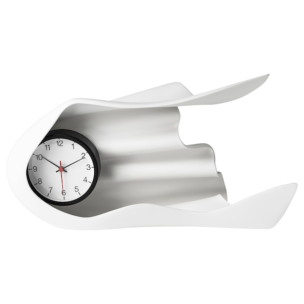 IKEA ART EVENT 2021 Clock, white, 15 ¾x5 ½x8 ¾ ""