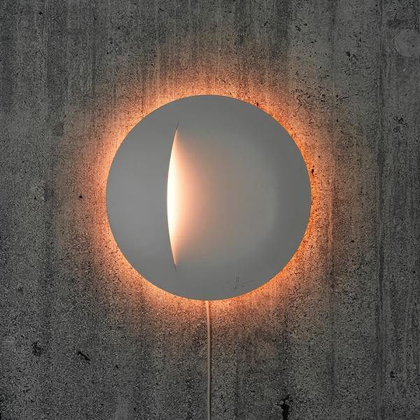 "IKEA ART EVENT 2021 LED wall lamp, white, 12 """