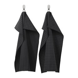 IKEA 365+ dish towel, black