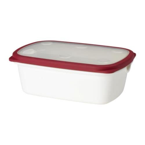 IKEA 365+ Food container IKEA Holds 57 ounces.  BPA free.