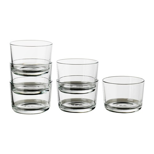 IKEA 365+ Glass, clear glass
