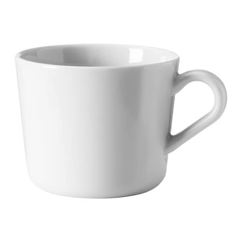 IKEA 365+ Mug, white white 8 oz