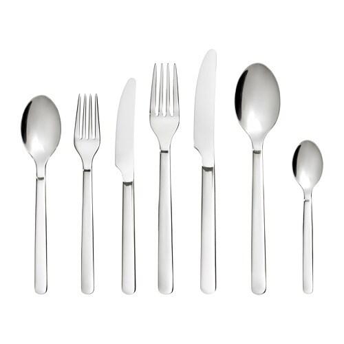 24 cm Ikea lindrig cuchillo en marrón oscuro; ; 2 unidades cubiertos cuchillo de mesa