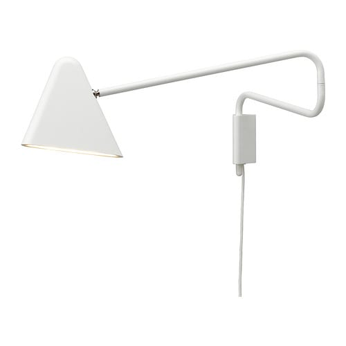 IKEA PS 2012 LED wall lamp IKEA Uses LEDs, which consumes up to 80% less energy and last 20 times longer than incandescent bulbs.