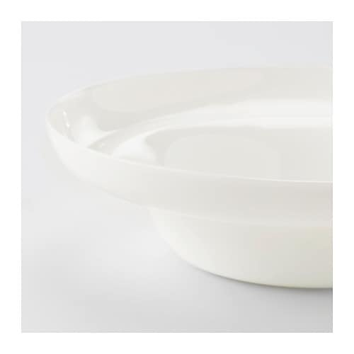 IKEA PS 2017 Bowl IKEA The bowl has a raised edge which makes it easy to carry without spilling.