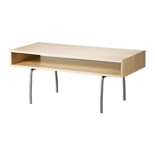 Ikea Ps 1995 Coffee Table Separate Shelf For Magazines Etc Helps You Keep