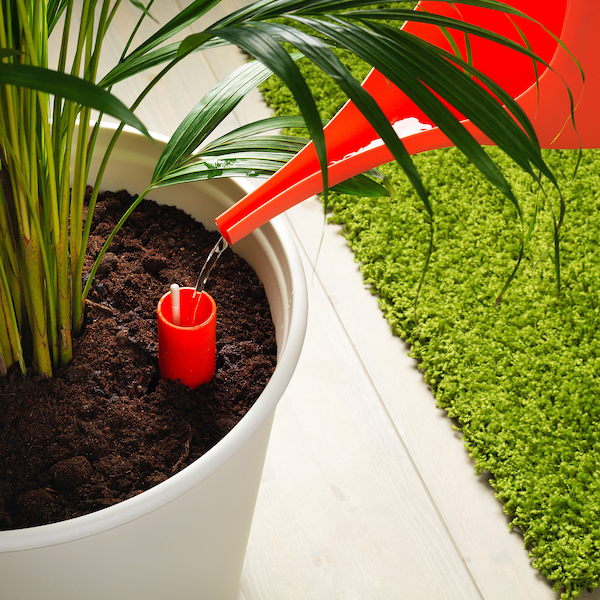 "IKEA PS FEJÖ Self-watering plant pot, white, 12 ½ """