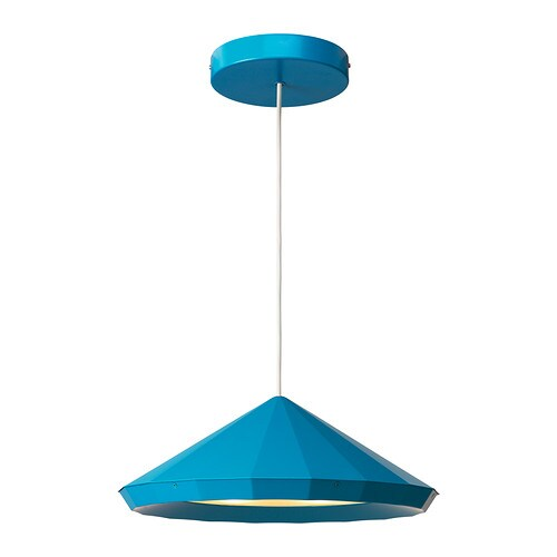 IKEA PS 2012 LED pendant lamp , blue Diameter: 18