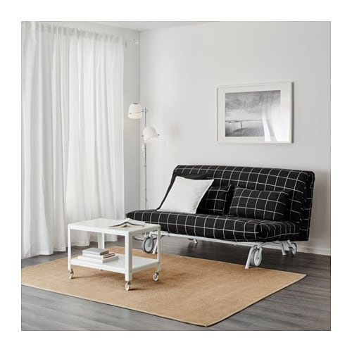 ikea ps sofa bed ikea ps 2017 2 seat sofa white grey thesofa. Black Bedroom Furniture Sets. Home Design Ideas