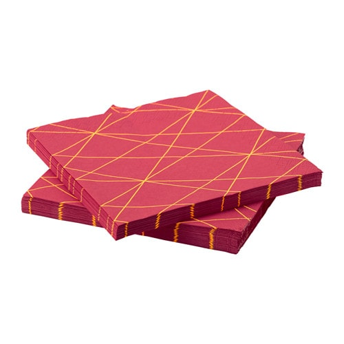 IKEA PS 2017 Paper napkin, pink