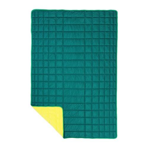 IKEA PS 2017 Throw, green, yellow green/yellow 47x71