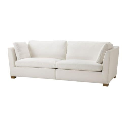 IKEA STOCKHOLM 3.5 seat sofa cover IKEA Easy to keep clean with removable, dry clean only cover.
