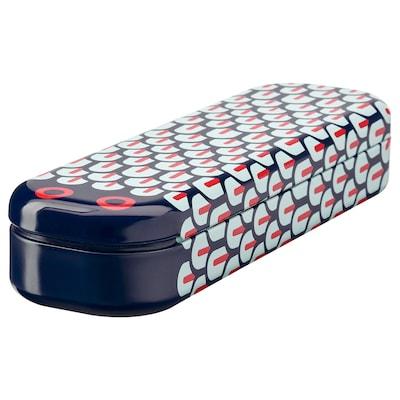 "ILLBATTING pencil case multicolor/snake metal 8 ¾ "" 2 ½ "" 1 ½ """