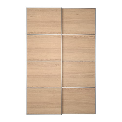 Ilseng pair of sliding doors 59x92 7 8 ikea - Porte coulissante dressing ikea ...