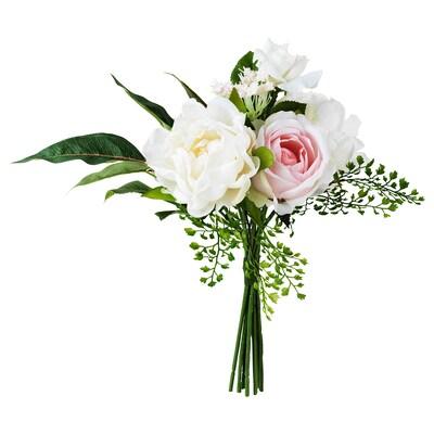 """INBJUDEN Artificial bouquet, pink, 13 ¾ """""""