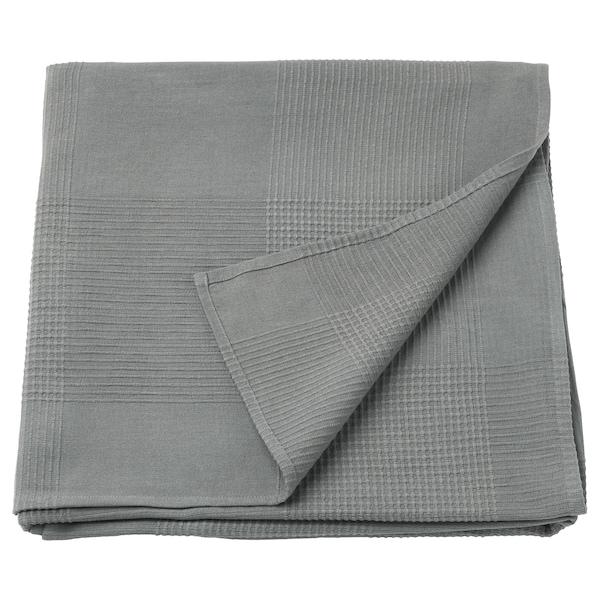 "INDIRA bedspread gray 98 "" 59 """