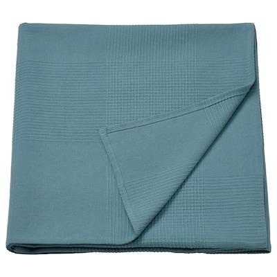 "INDIRA Bedspread, light blue, 59x98 """