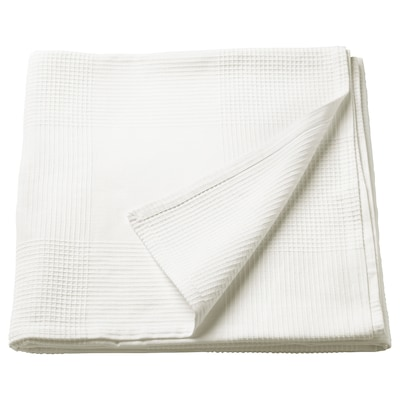 "INDIRA bedspread white 98 "" 59 """