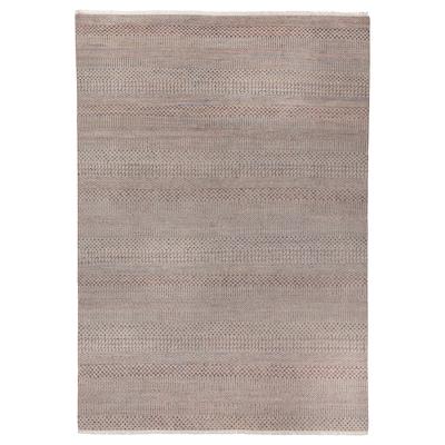 "INDO AGRA PASTURE Rug, handmade/grass gray, 5 ' 3 ""x7 ' 7 """