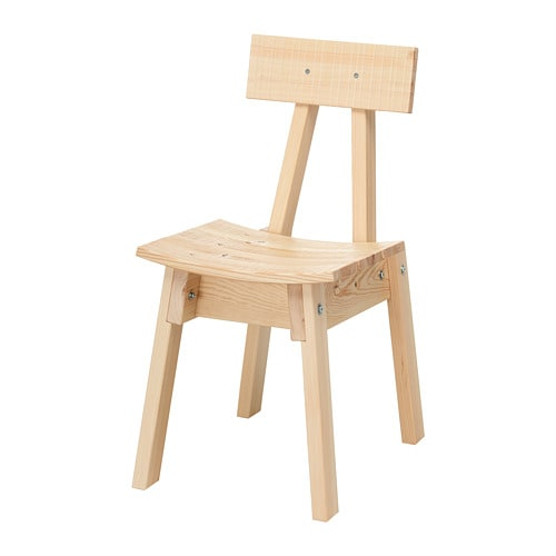Industriell Chair Pine Ikea