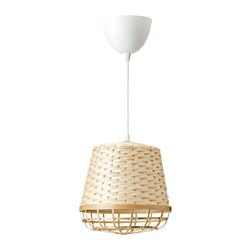 INDUSTRIELL pendant lamp, bamboo