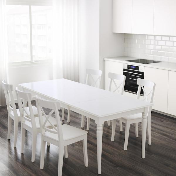 IKEA INGATORP Extendable table