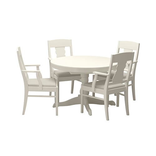 Ikea Kitchen Set: INGATORP / INGATORP Table And 4 Chairs