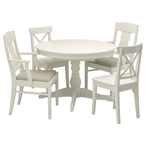 IKEA INGATORP / INGOLF Table and 4 chairs