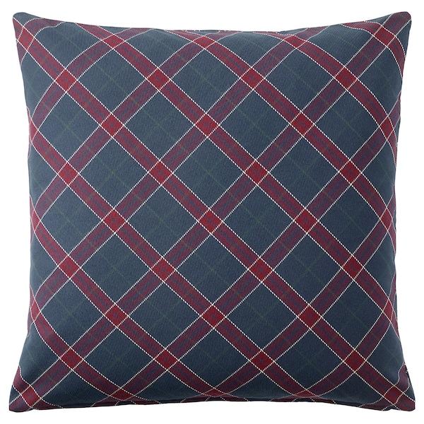 """INGERILSE Cushion cover, blue/red, 20x20 """""""