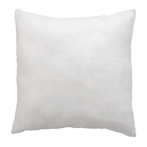 """INNER Inner cushion natural Length: 20 """" Width: 20 """"  Length: 50 cm Width: 50 cm"""