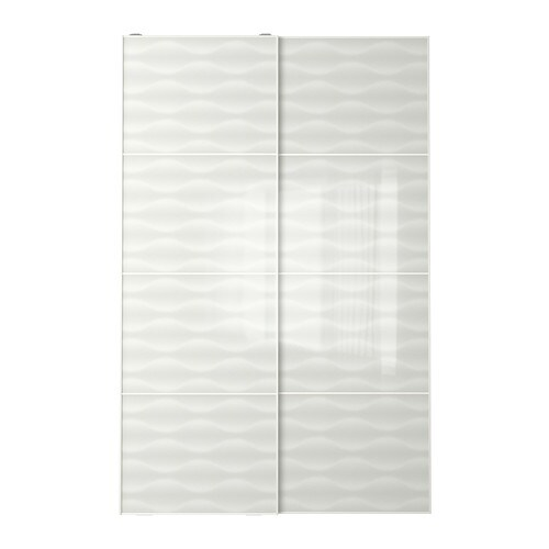INNFJORDEN Pair of sliding doors IKEA 10-year Limited Warranty.   Read about the terms in the Limited Warranty brochure.