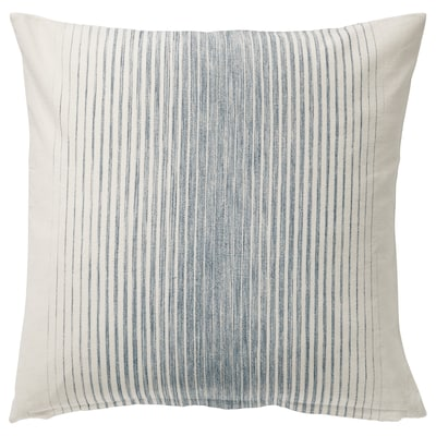 "ISPIGG Cushion cover, blue/natural, 20x20 """