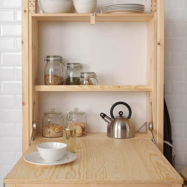 IKEA IVAR Shelving unit with foldable table