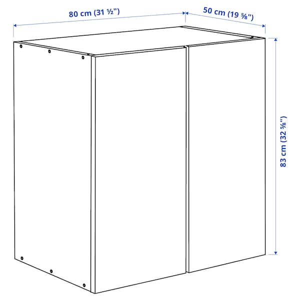 "IVAR Cabinet, pine, 32x20x33 """