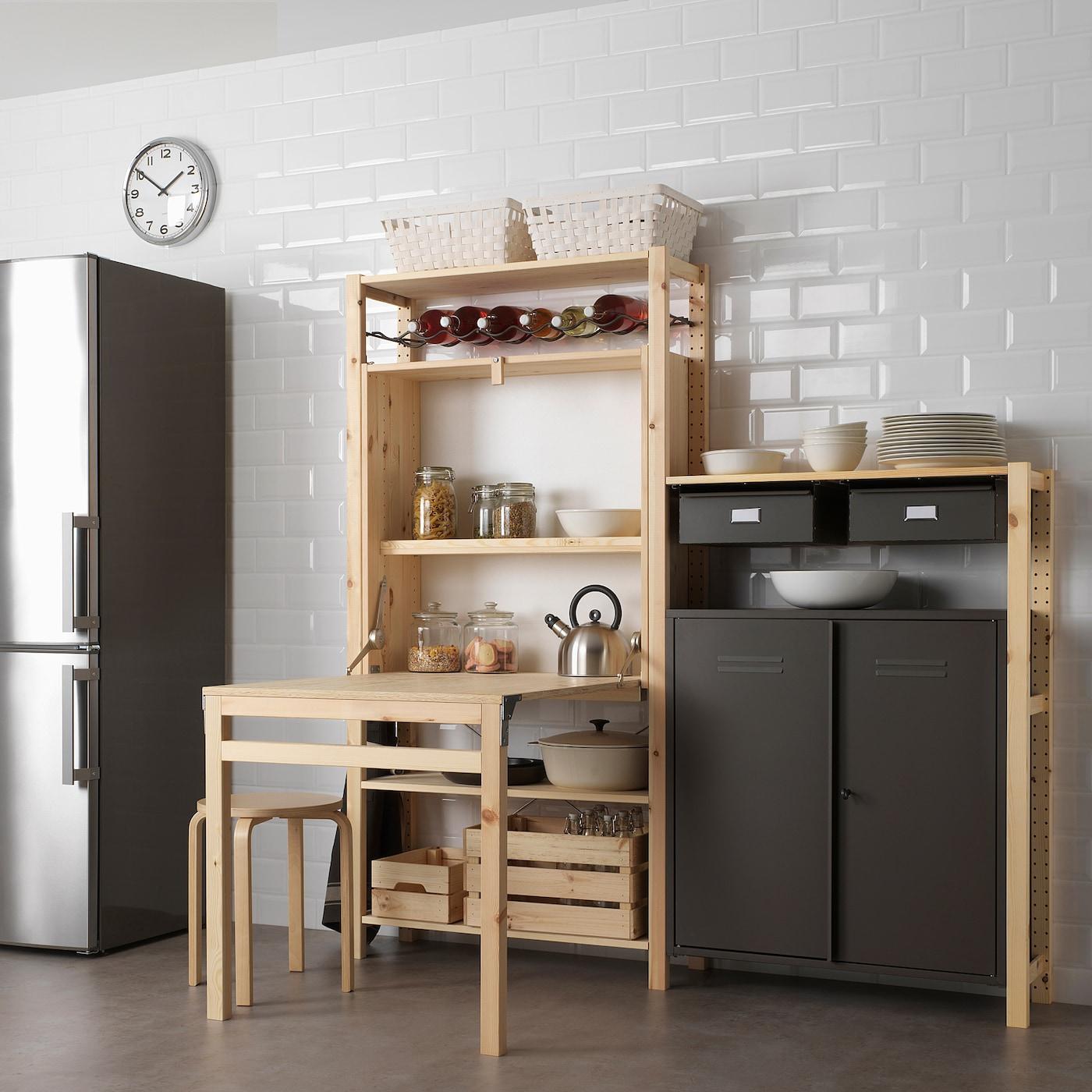 Ikea IVAR Cabinet Cupboard,Solid Pine,Huge Storage Unit,Two sizes,Multipurpose