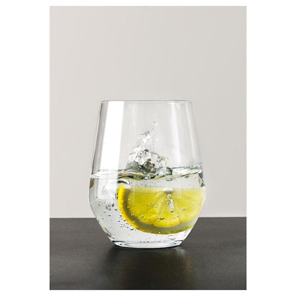 IVRIG Glass, clear glass, 15 oz