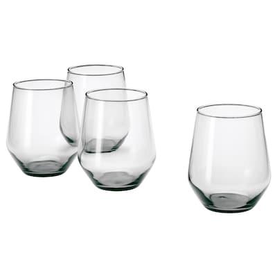 "IVRIG glass gray 4 "" 15 oz 4 pack"