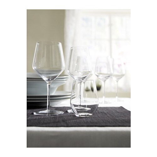 IVRIG White wine glass IKEA