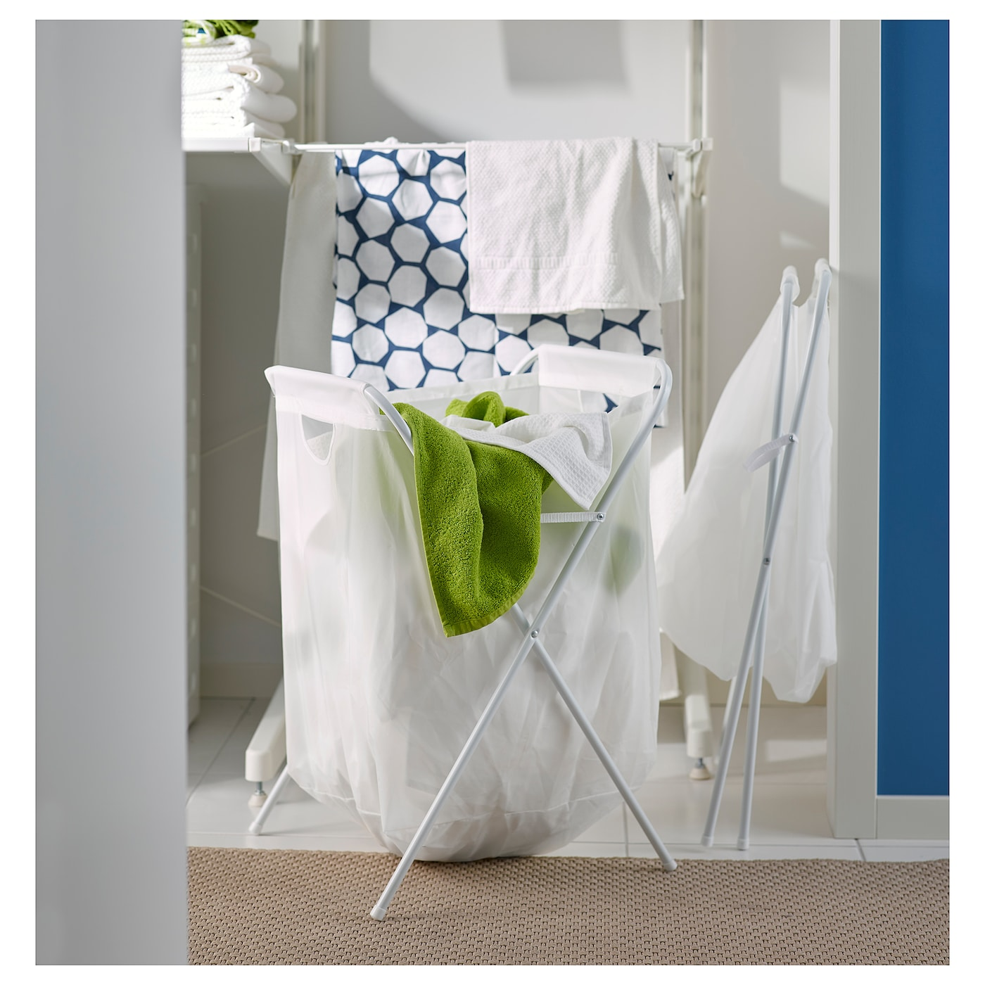 Hamper Jall New IKea White Laundry Bag